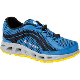 Columbia Drainmaker IV Shoes Youths Stormy Blue/Deep Yellow